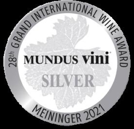 2021 - Mundus Vini Spring Tasting – Médaille d'Argent