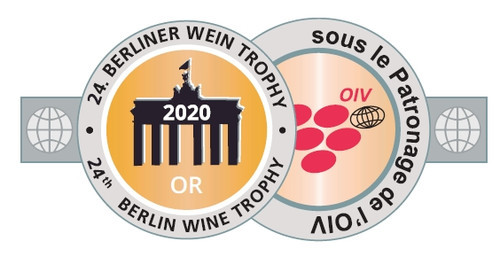 2020 - Berliner Wein Trophy - Médaille d'Or