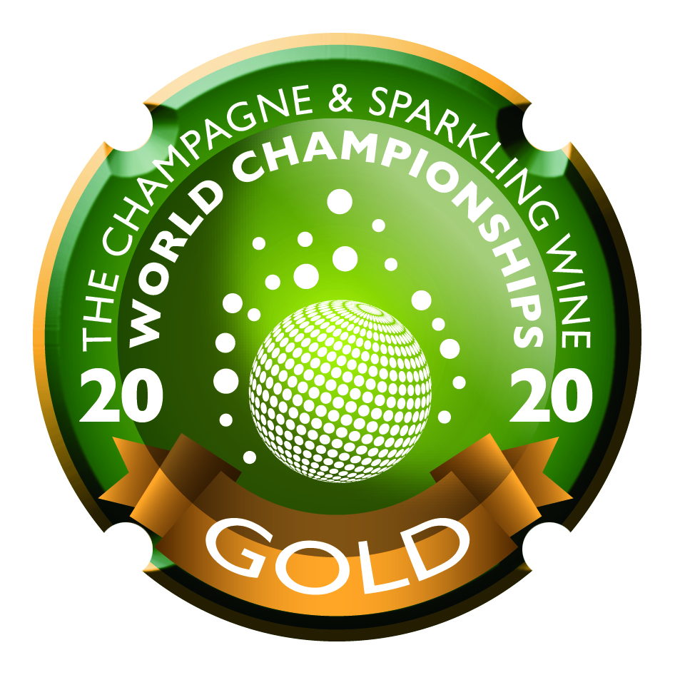 2020 - The Champagne & Sparkling Winne World Championships - Médaille d'Or