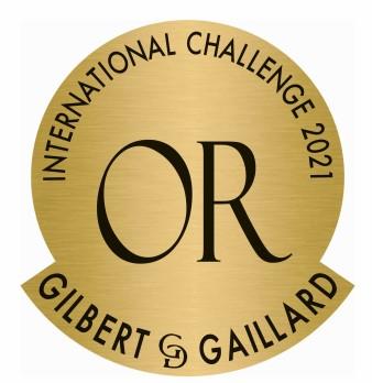 2021 - Gilbert & Gaillard – Médaille d'Or