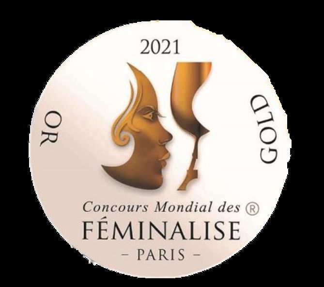 2021 - Concours mondial Féminalise – Médaille d'Or