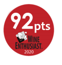 2020 - Wine Enthusiast Magazine - 92 points