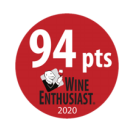 2020 - Wine Enthusiast Magazine - 94 points