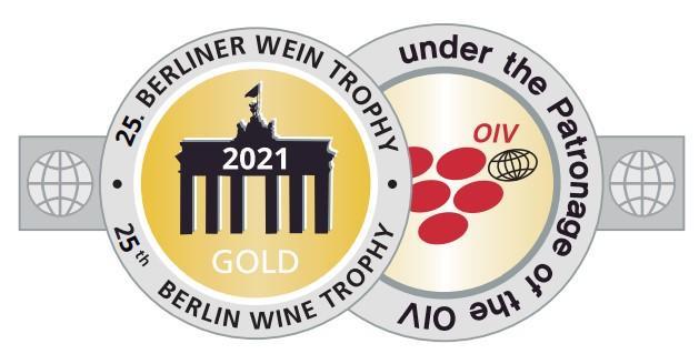 2021 - Berliner Wine trophy - Médaille d'Or