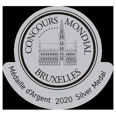 2020 - Concours Mondial de Bruxelles - Argent
